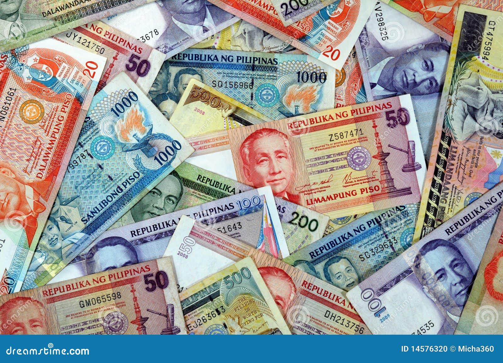 philippinen bargeld stockfoto bild von bezahlung. Black Bedroom Furniture Sets. Home Design Ideas