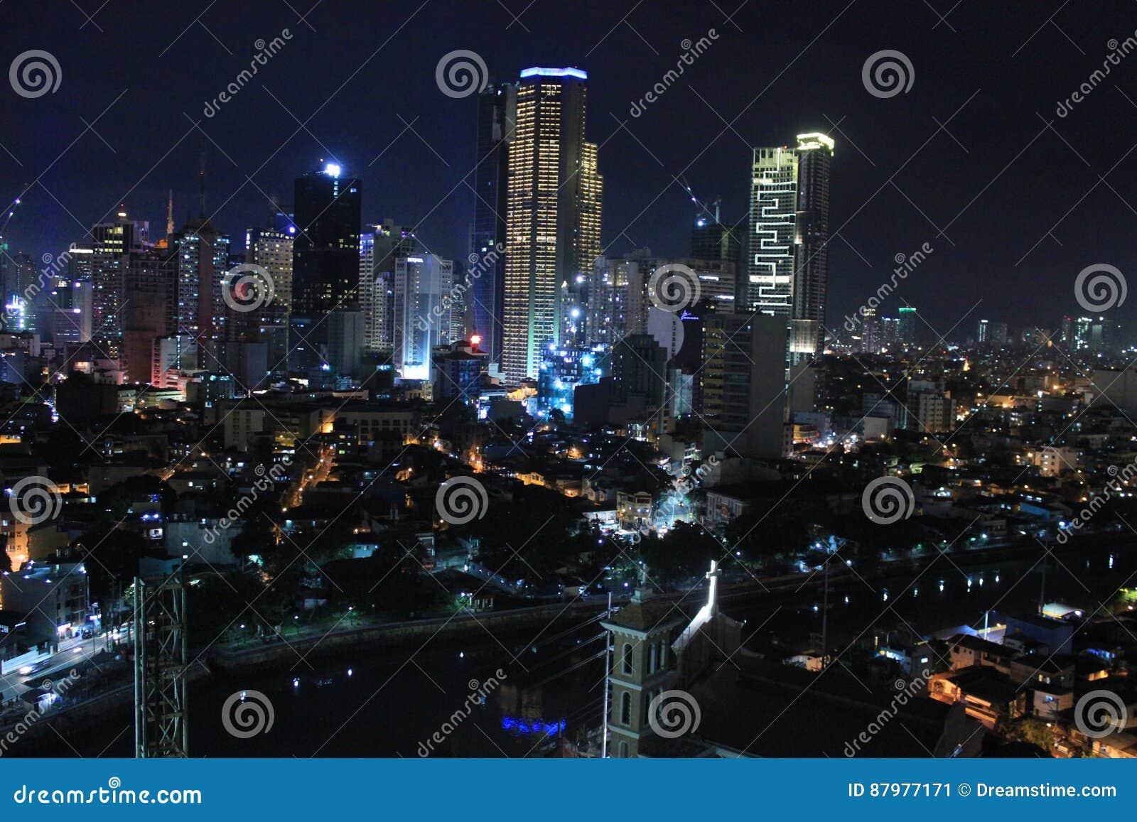 Philippines city Manila