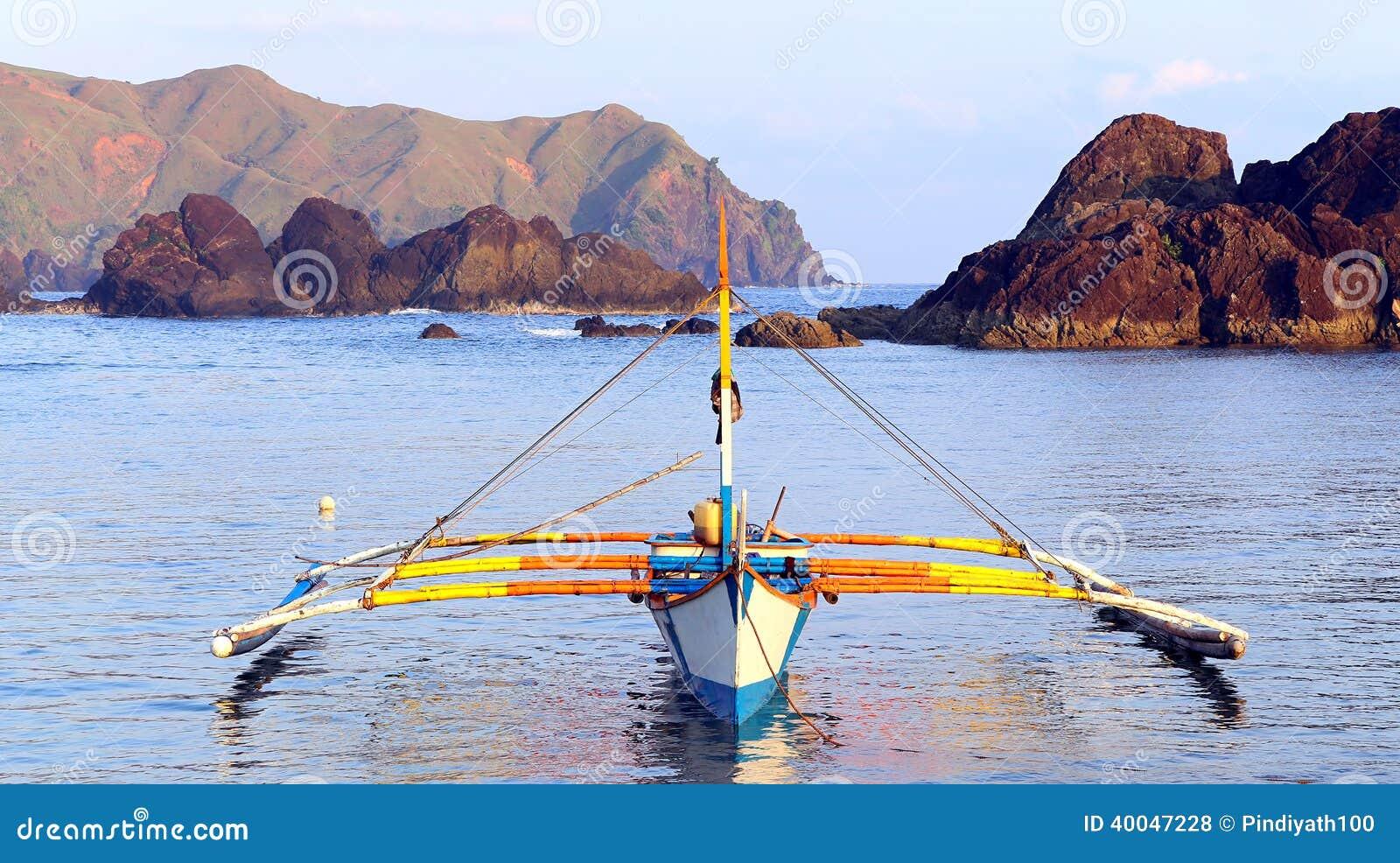 Philippines Fishing Boat Stock Photo - Image: 40047228