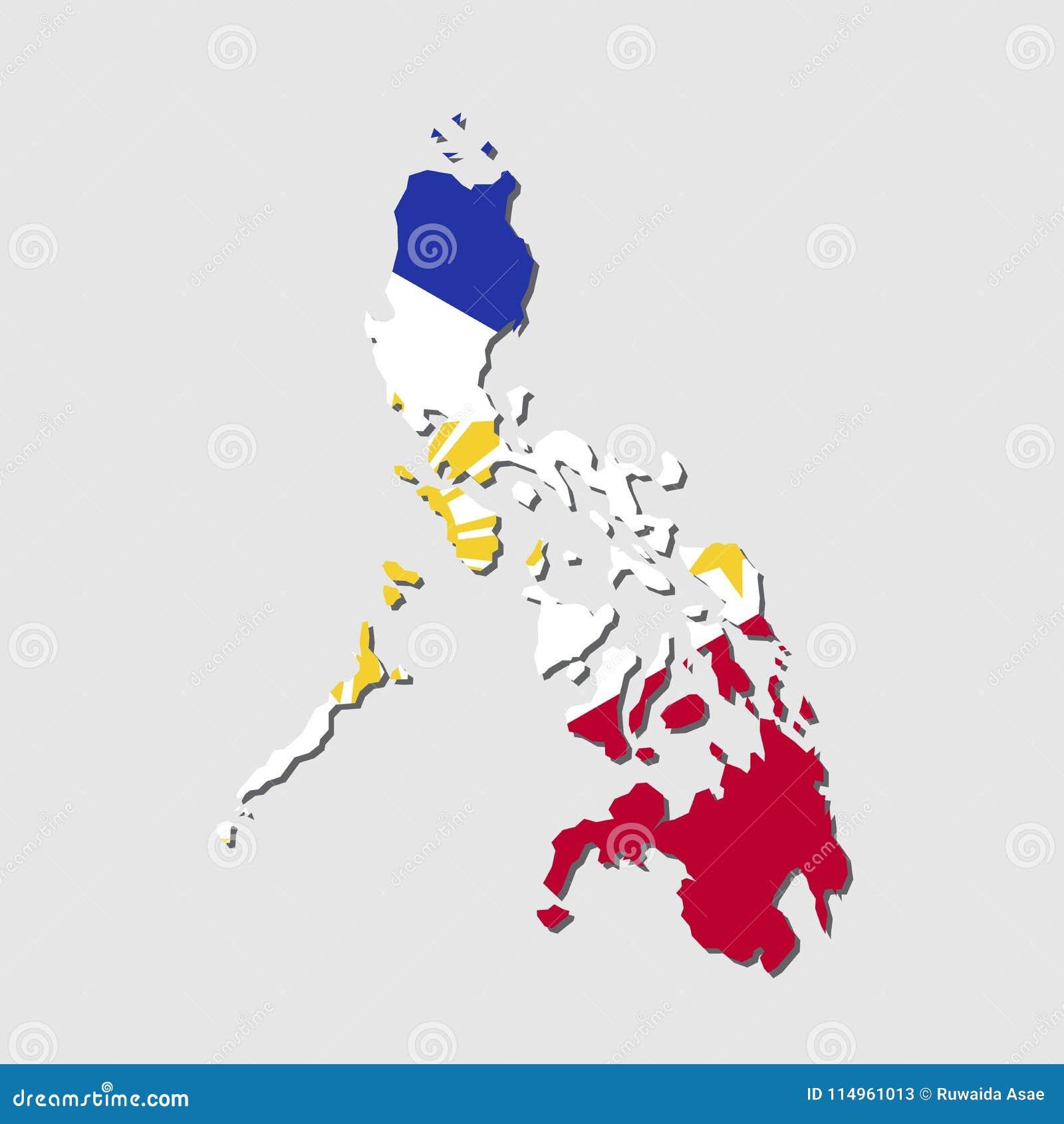 2c197330c9c2d Philippines Map Flag