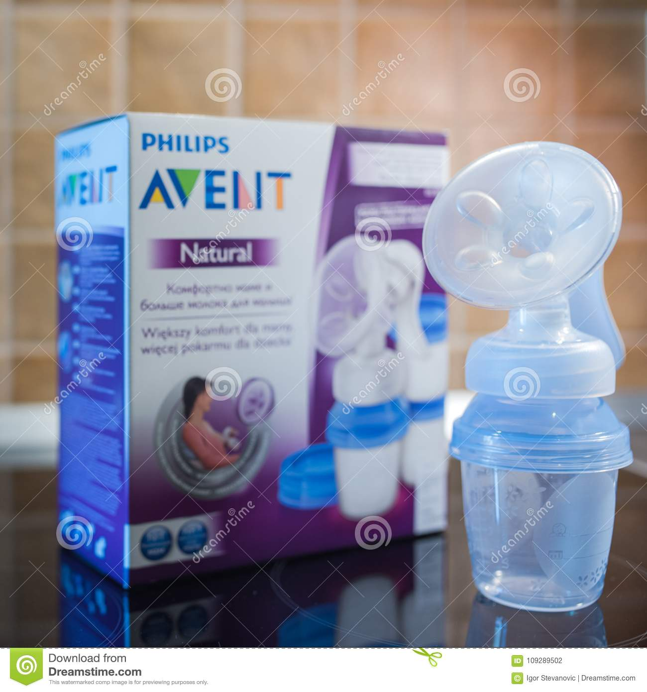 Philips Avent Manual Breast Pump Editorial Photography Image Of