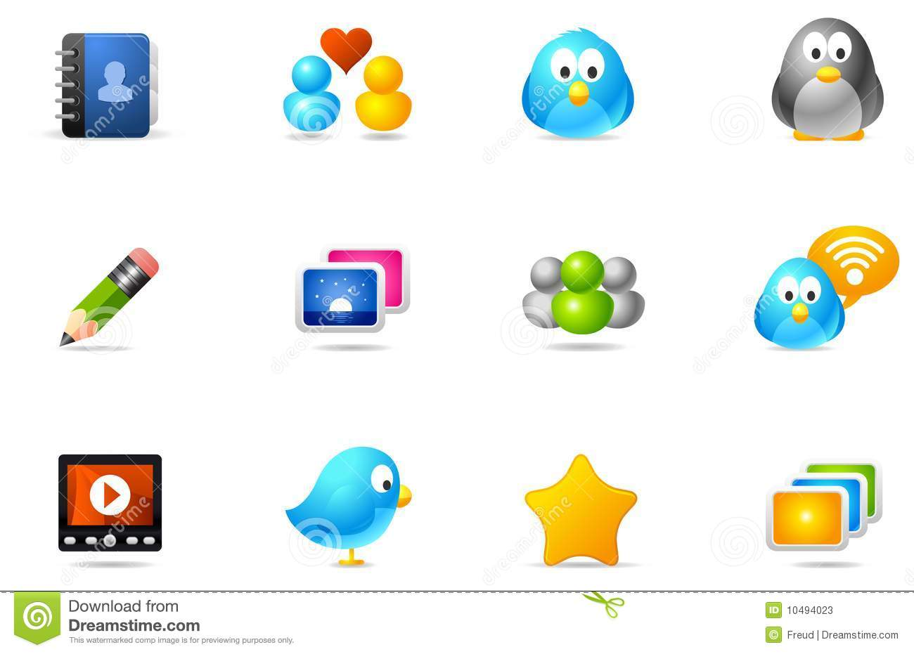 Philos icons - set 10 | Social Media