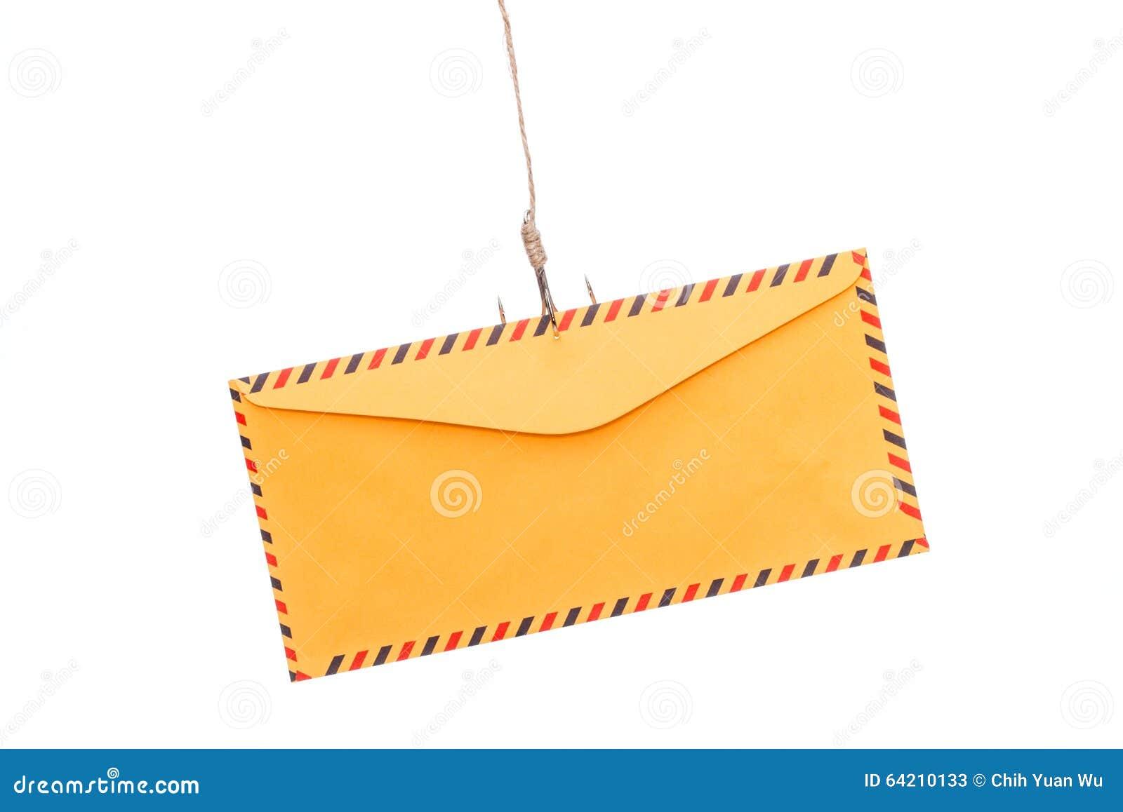 Phishing del correo aéreo