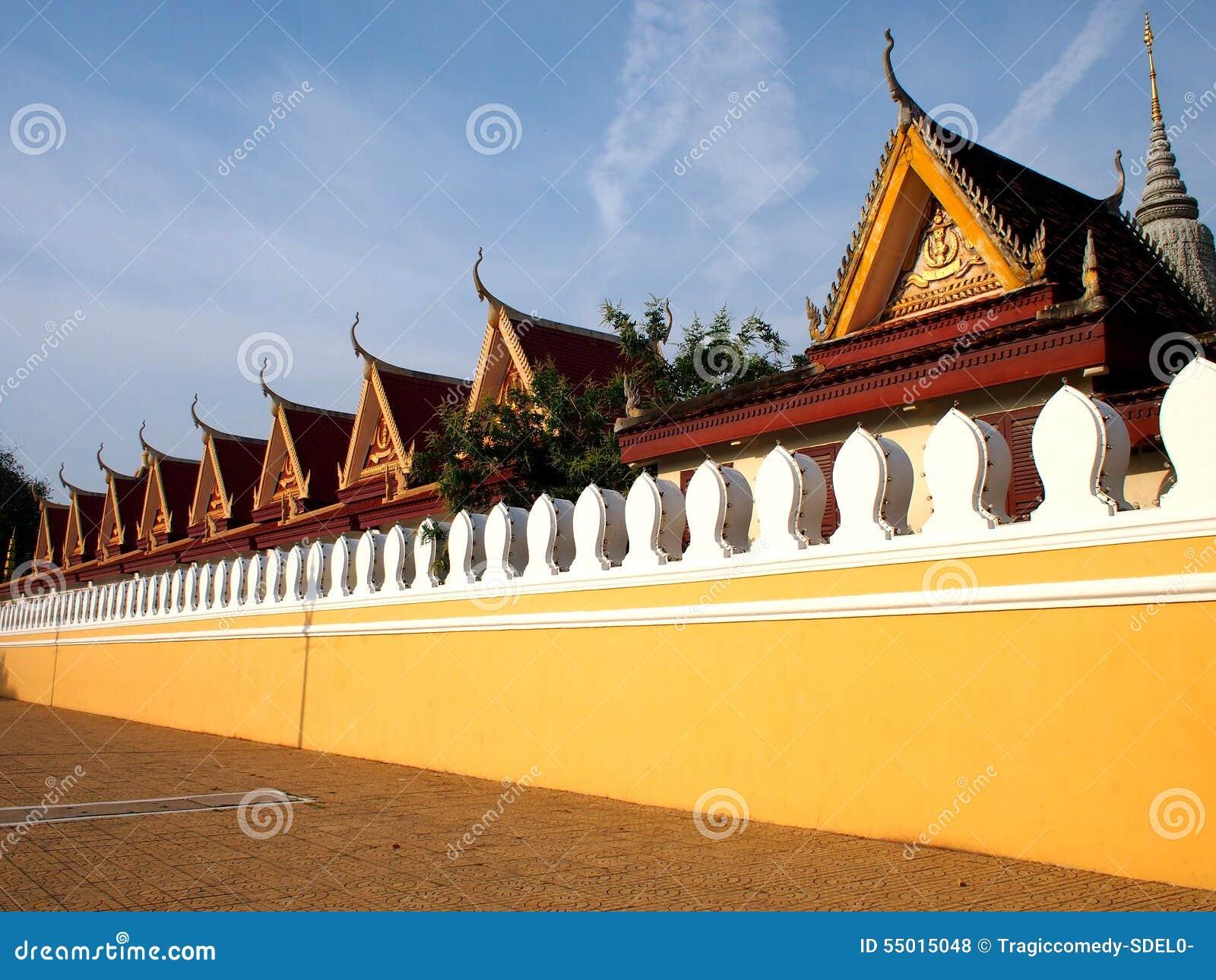 Phnom Penh Świątynny kompleks 1