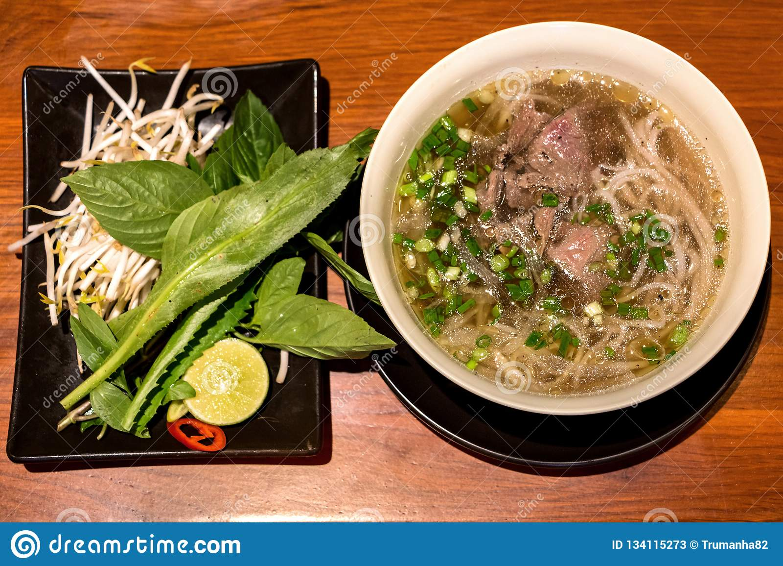 Pho,普遍的越南牛肉汤面