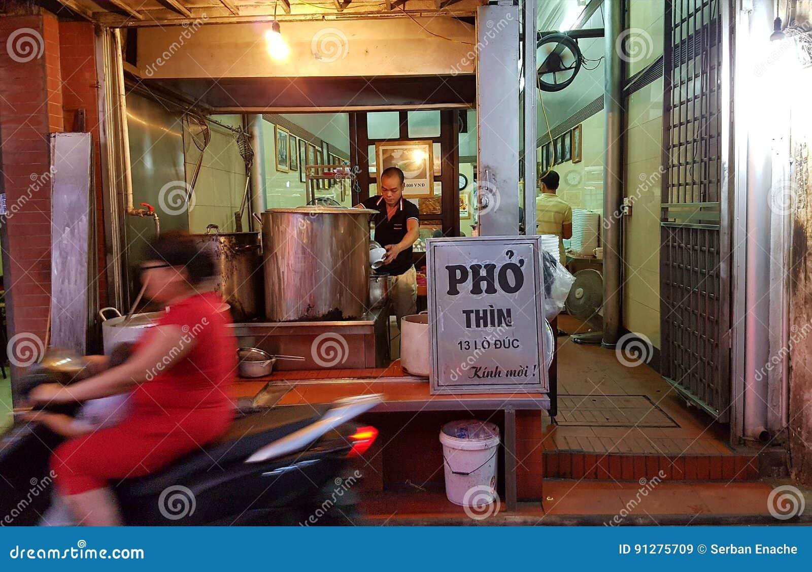 Pho shoppar, Hanoi, Vietnam