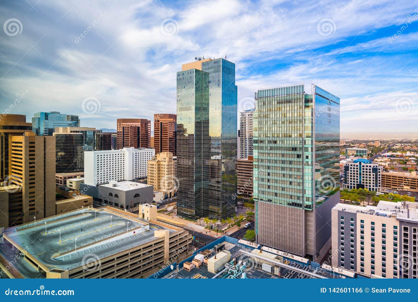 Phoenix, Arizona, usa pejzaż miejski