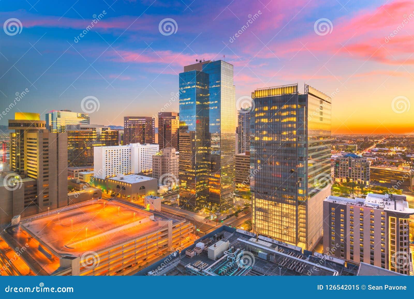 Phoenix, Arizona, USA-Stadtbild
