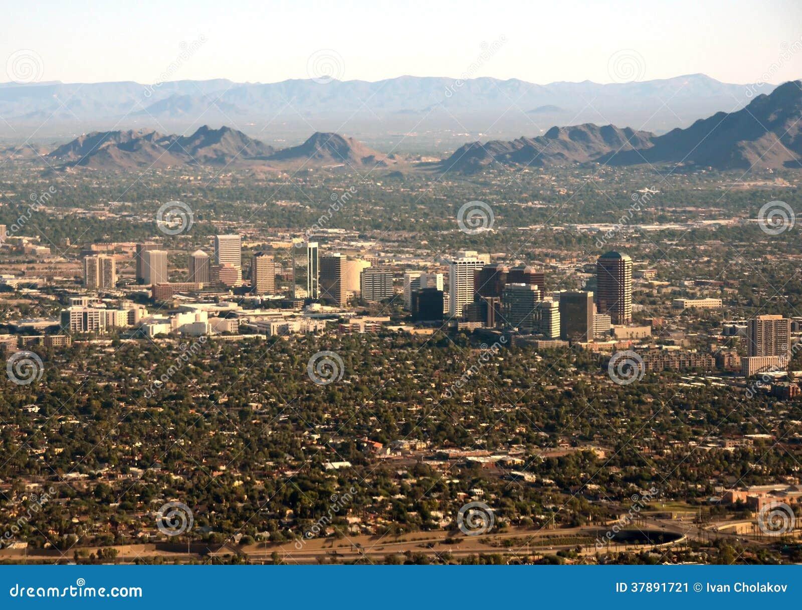 Phoenix, AZ bedrijfsdistrict