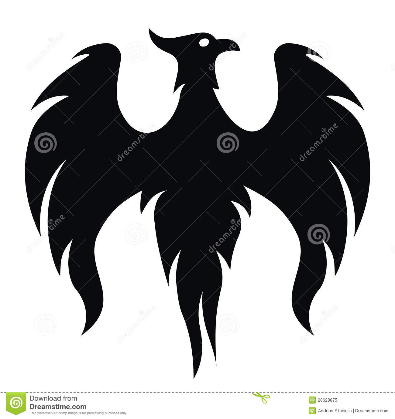 phoenix bird royalty free stock photo   image 20628875
