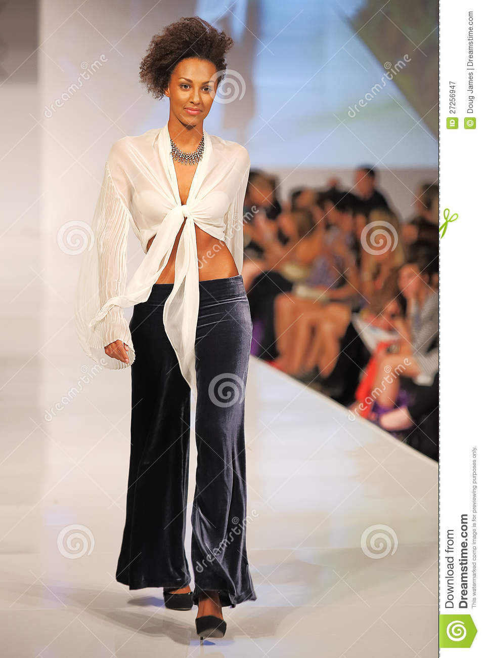 Phoenix Fashion Week Thursday Runway Shows Editorial Photography Image 27256947