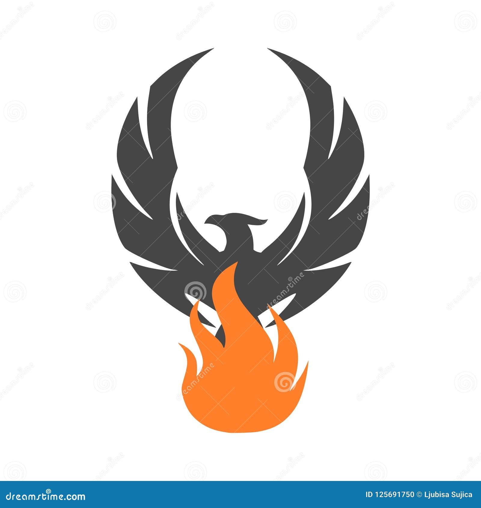 Phoenix Logo, Phoenix Icon, Simple Vector Icon Stock ...