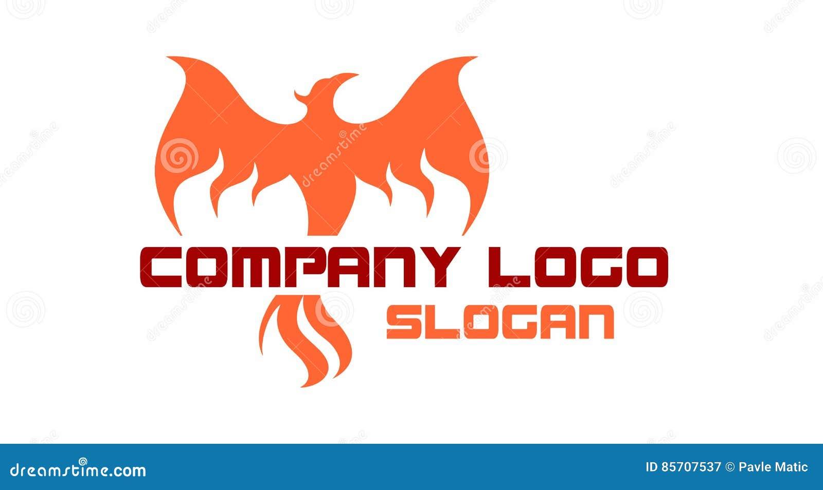 Phoenix Rising Logo Stock Vector Illustration Of Idea 85707537