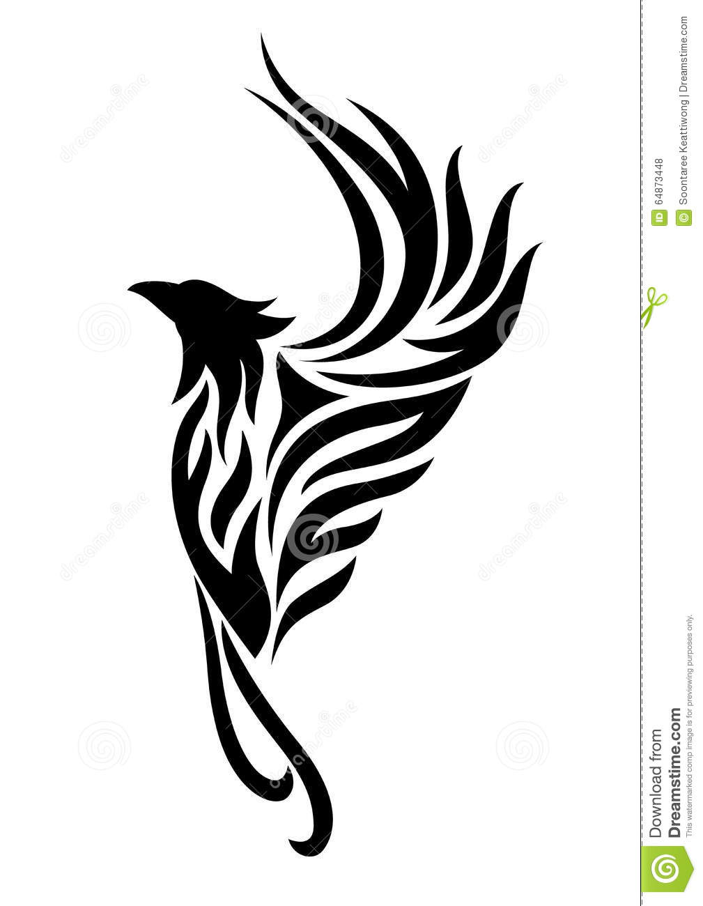 phoenix tattoo clipart stock illustration illustration of tattoo rh dreamstime com tattoo clipart tattoo clipart
