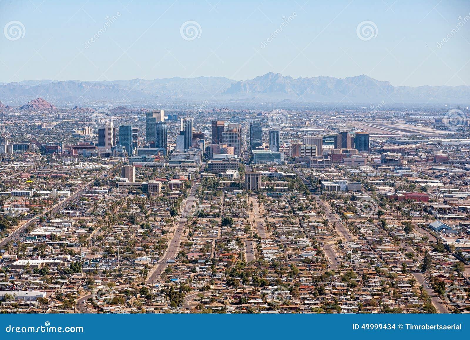 Phoenix van de binnenstad
