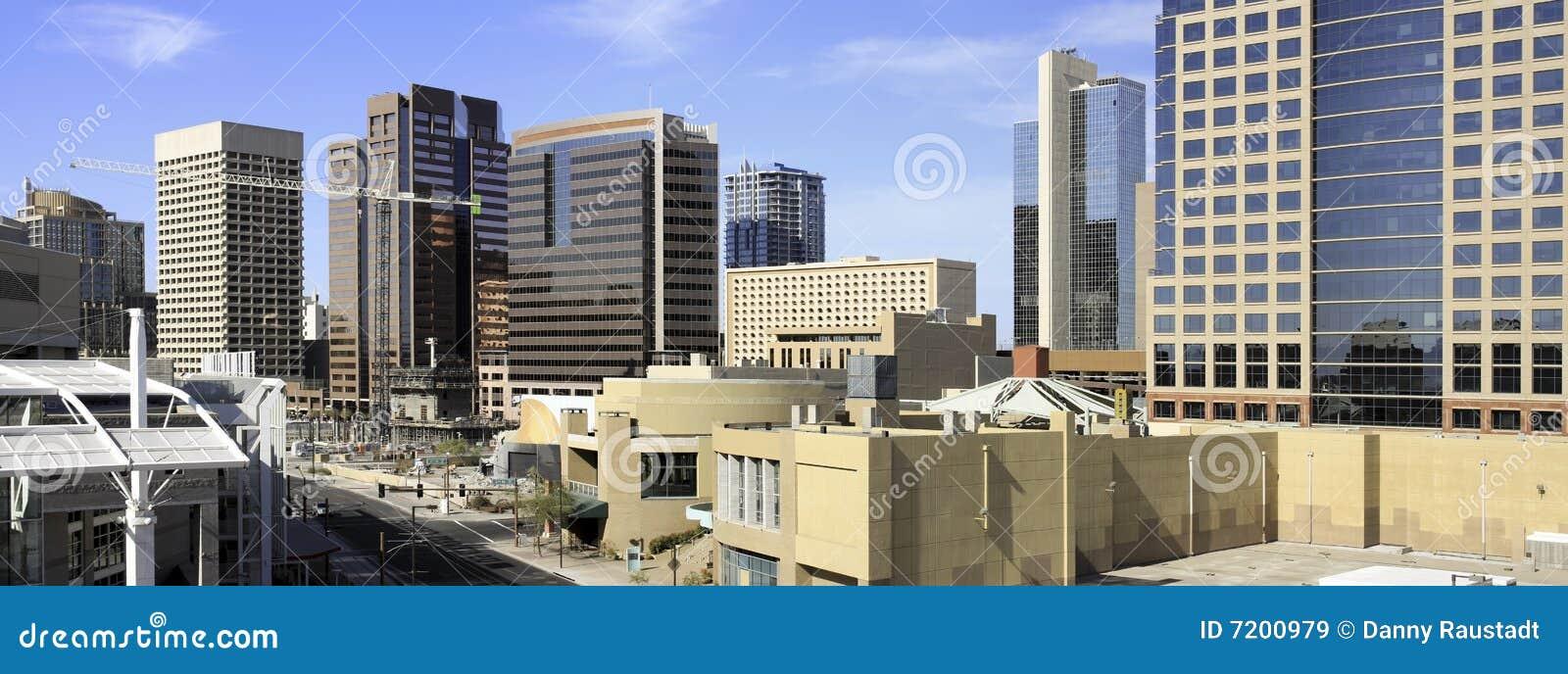 Phoenix van de binnenstad Arizona