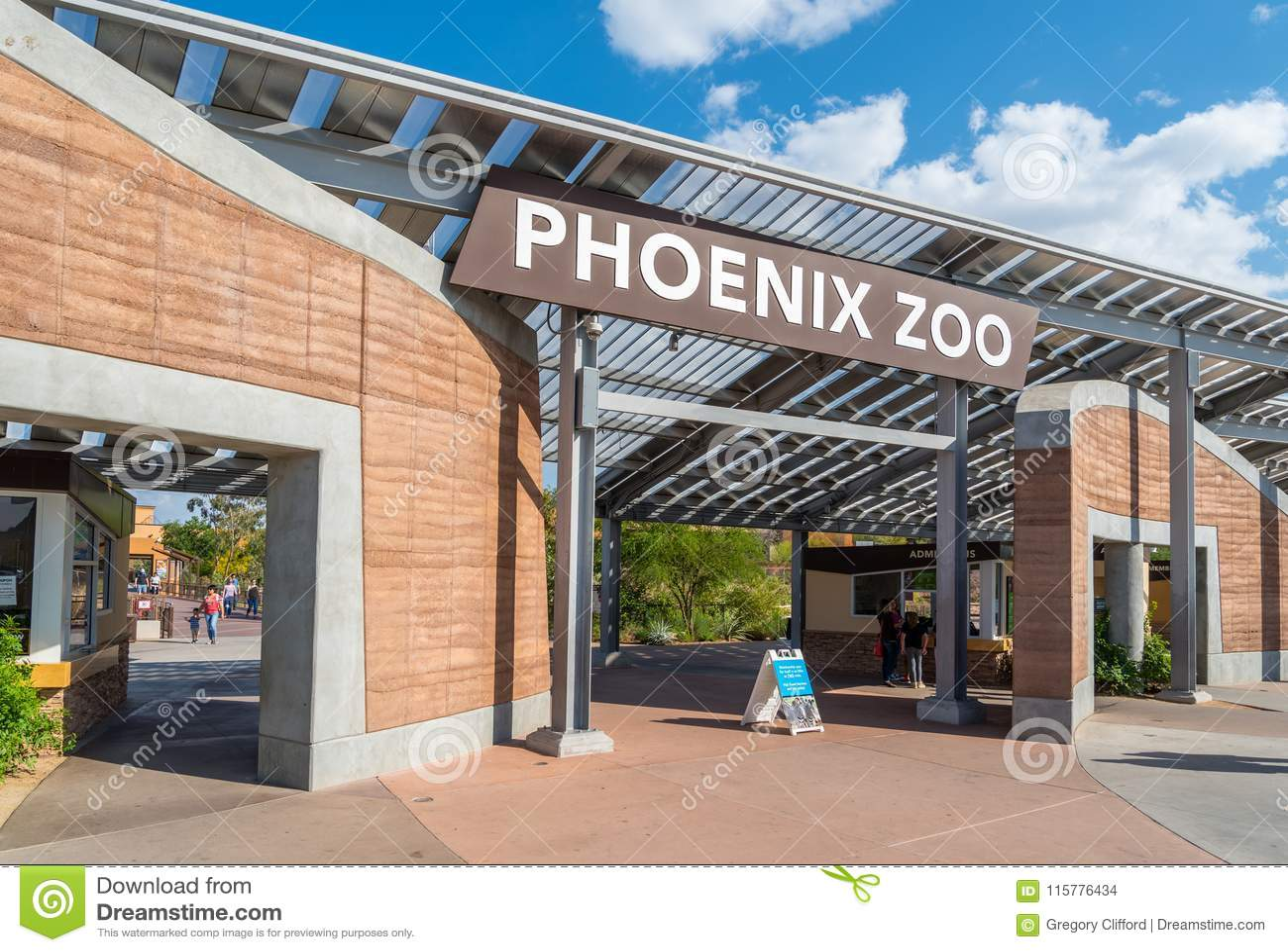 Phoenix zoo wejście
