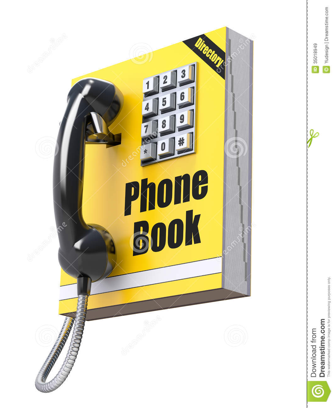 Phone Book Concept Stock Illustration Image Of Keyboard