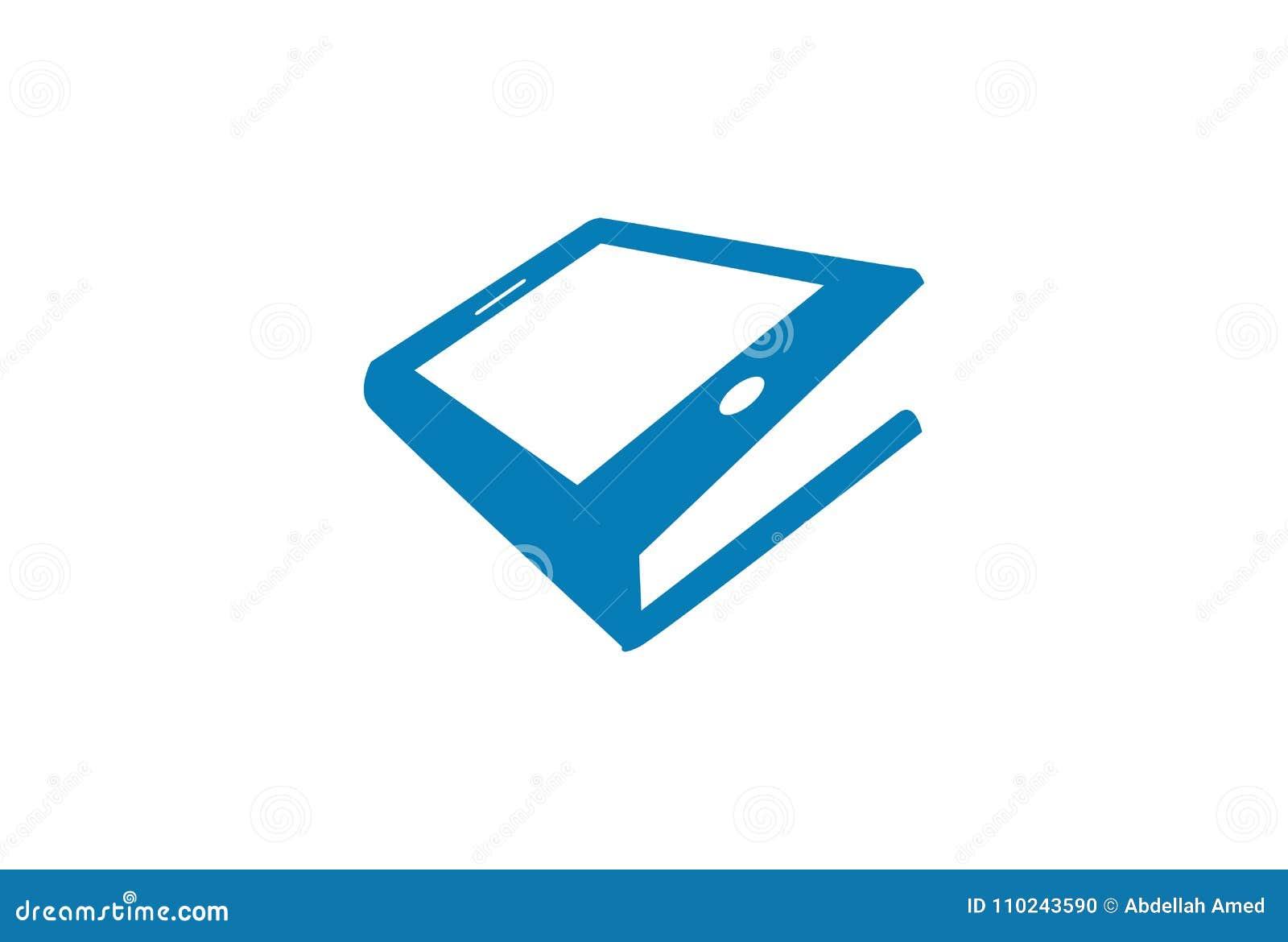 Phone Book Logo stock vector  Illustration of phone - 110243590