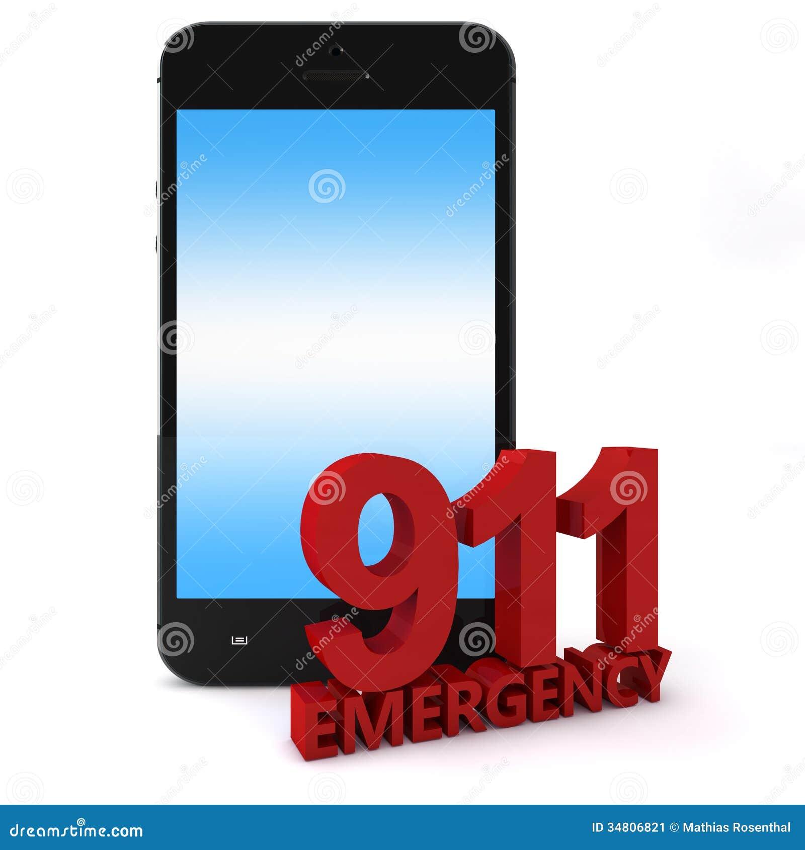 911 phone stock image   image 34806821