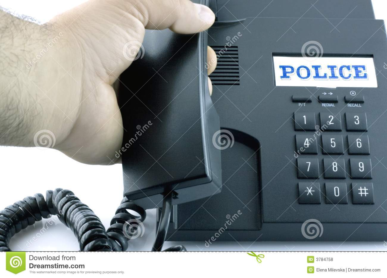 Phone for an emergency call