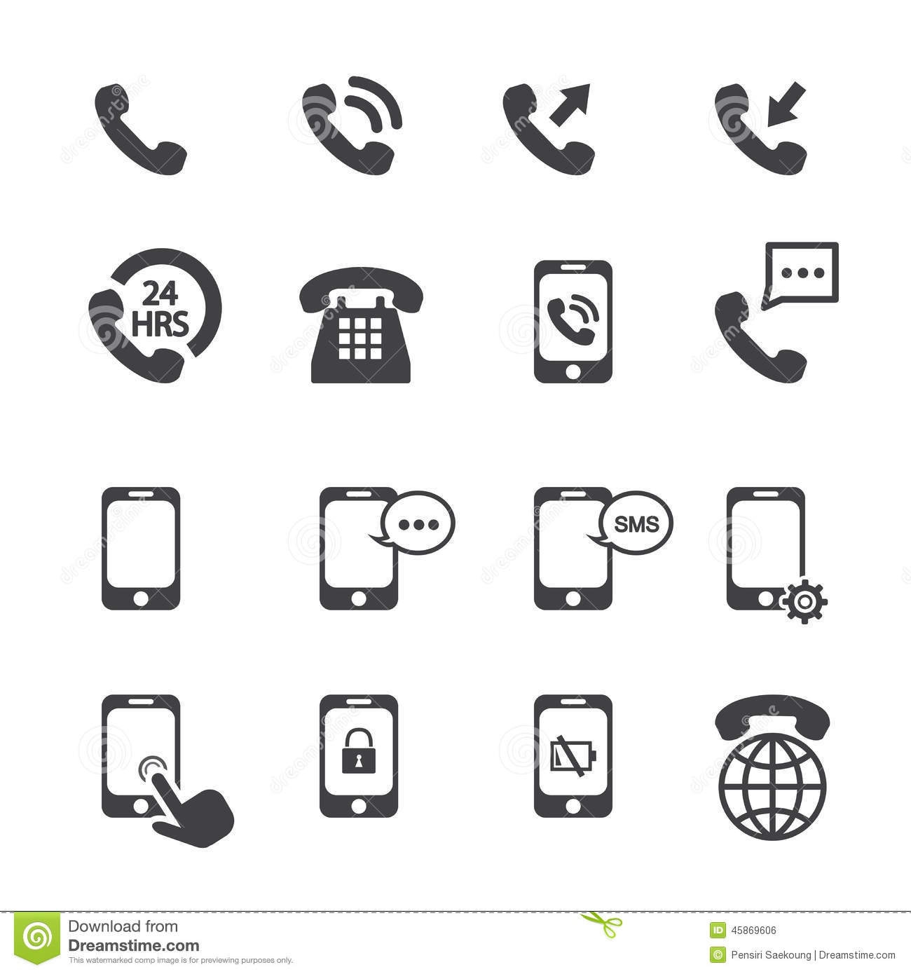 Telephone Icon For Business Card Image collections - Business Card ...