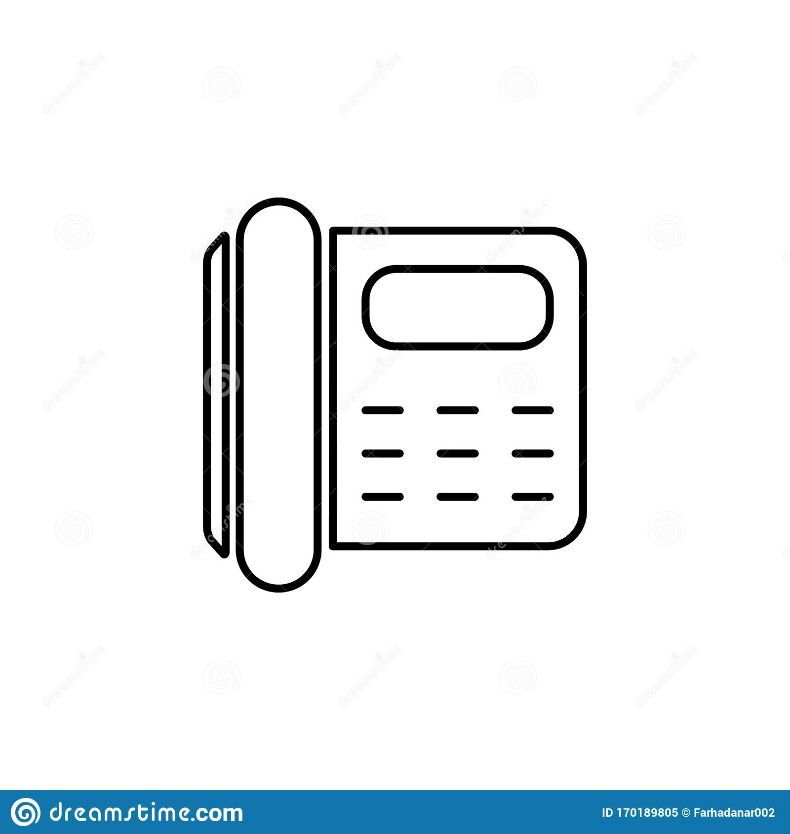 Phone Number Icon. Element Of Simple Travel Icon For ...