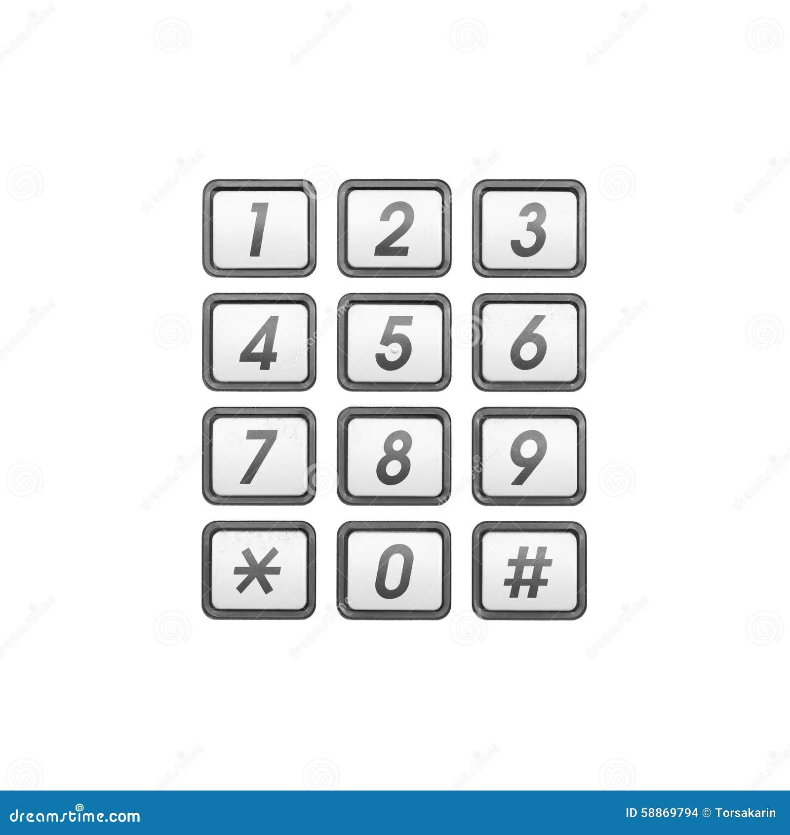 Phone number keypad stock photo. Image of metal, keyboard - 58869794