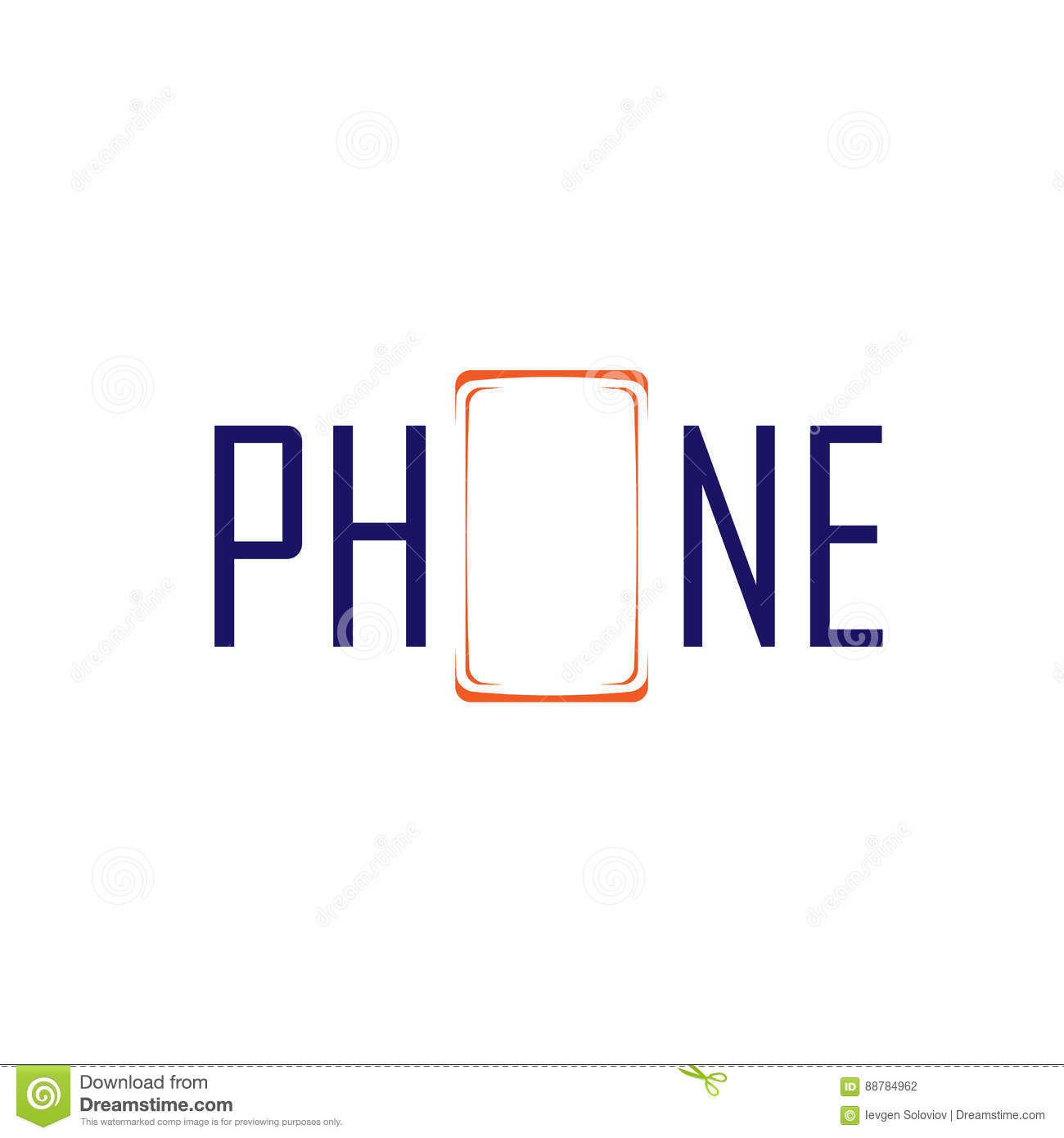 Phone Symbol And Logo Stock Vector Illustration Of Graphic 88784962