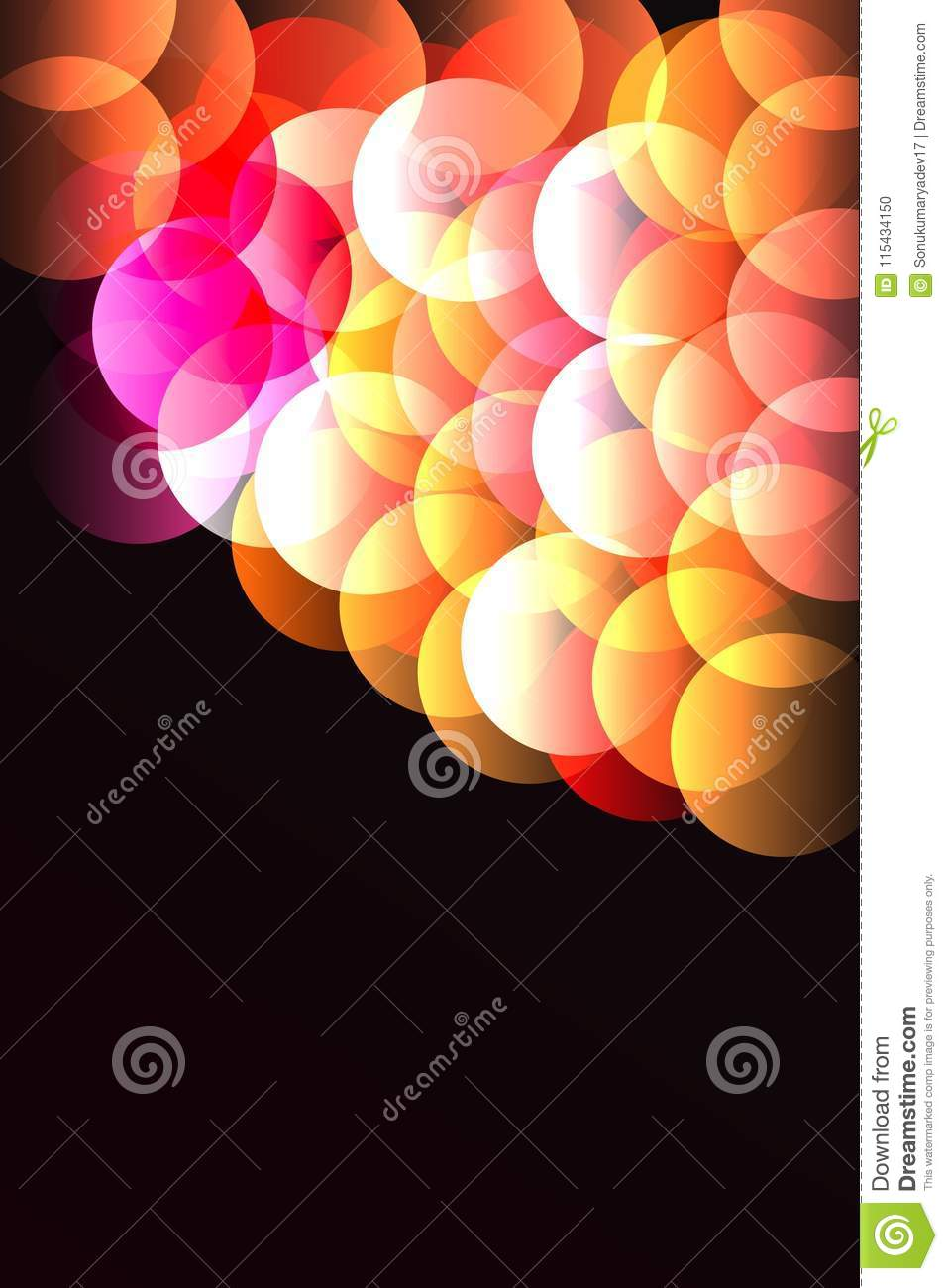Phone Wallpaper Black Background And Red Colour Stock Vector Illustration Of Colour Collage 115434150