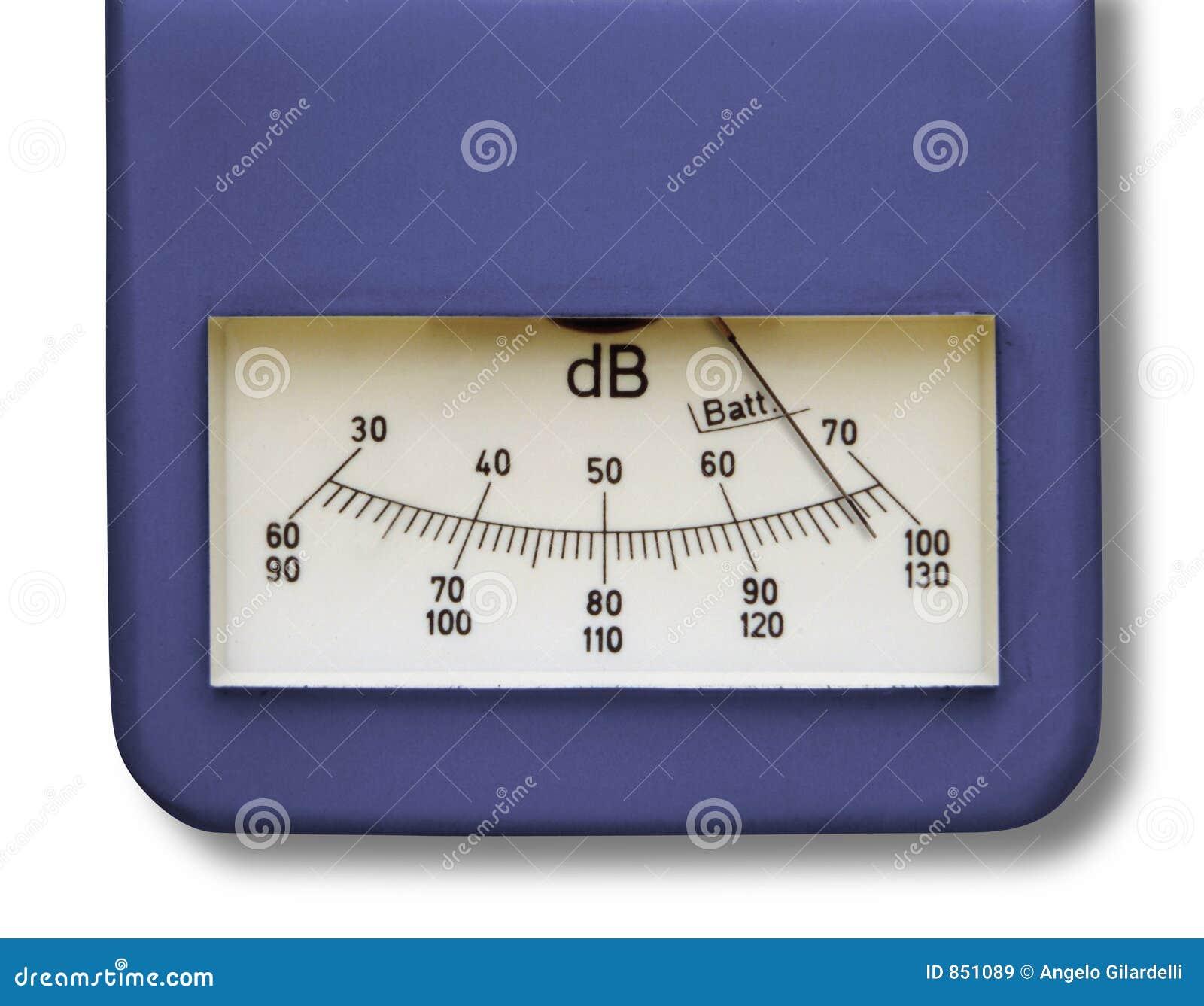 Phonometer μετρητών επιπέδων