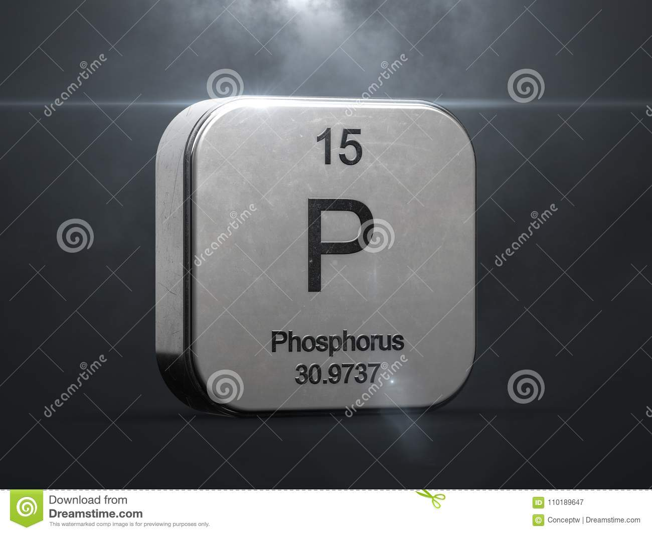 Phosphorus element from the periodic table stock illustration download comp urtaz Gallery