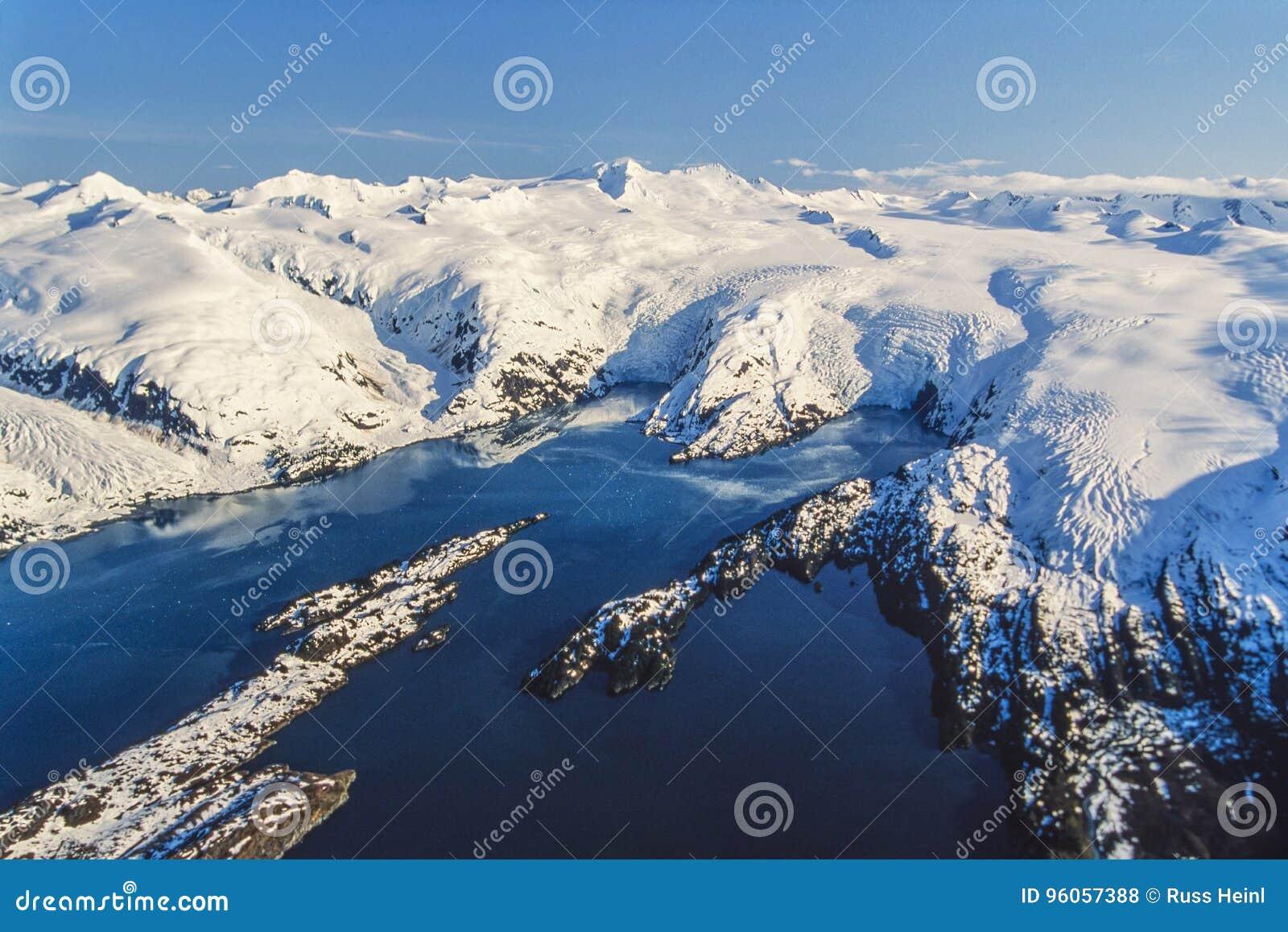 Photo aérienne Alaska
