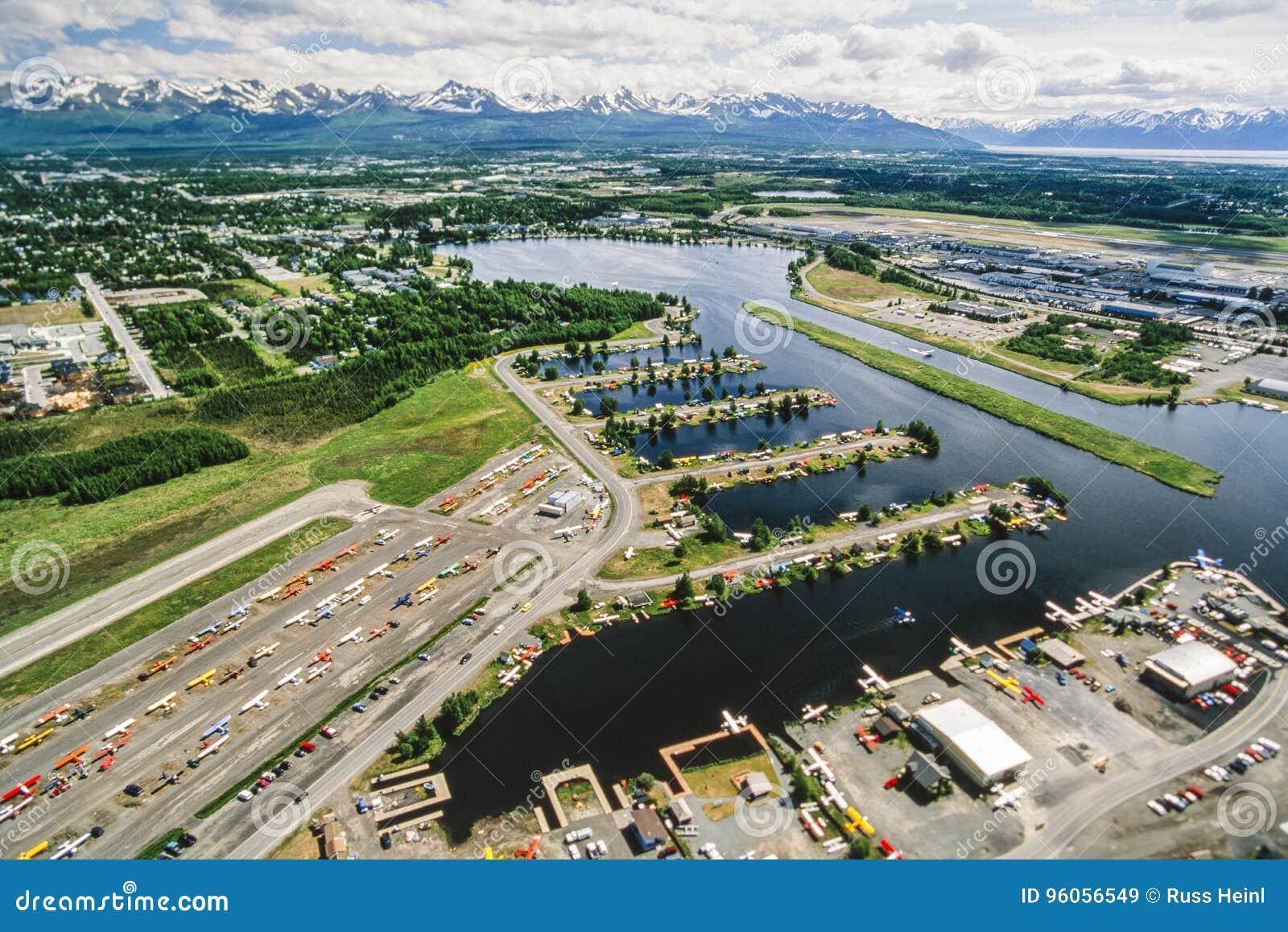 Photo aérienne d Anchorage Alaska