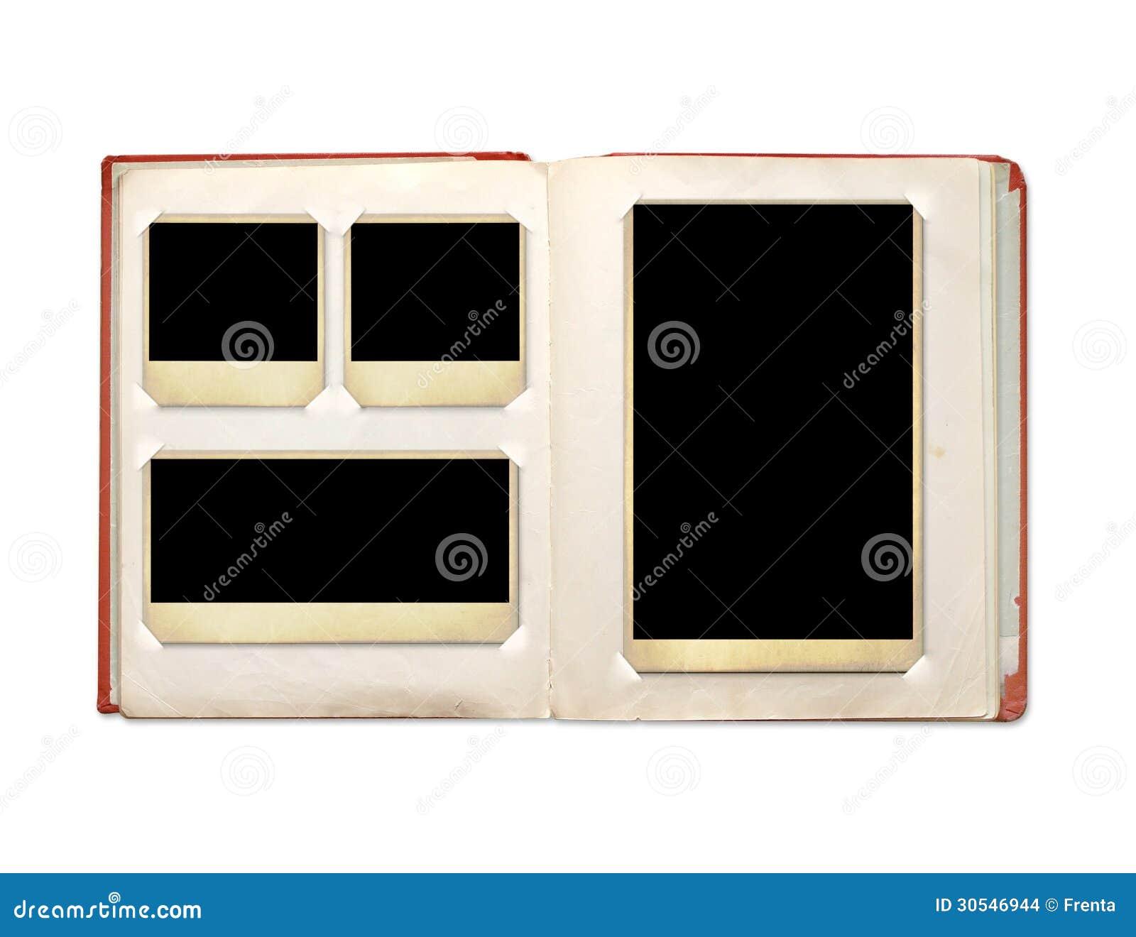 Photo album with retro photos stock photo image 30546944 - Album de fotos ...