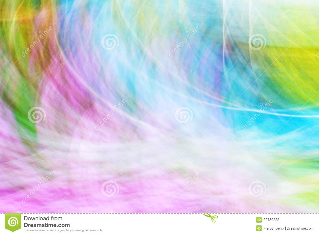 Photo Art Bright Colorful Light Streaks Abstract Background Stock