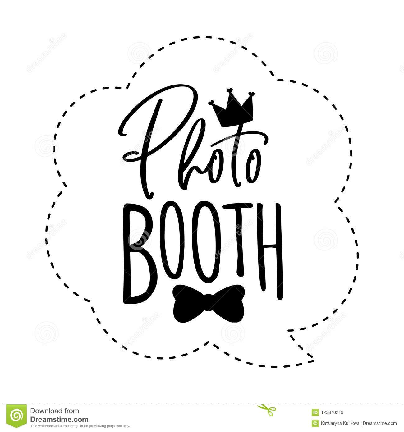 photograph about Free Printable Photo Booth Props Words named Picture Booth Photobooth Props Indicator Or Icon. Inventory Vector
