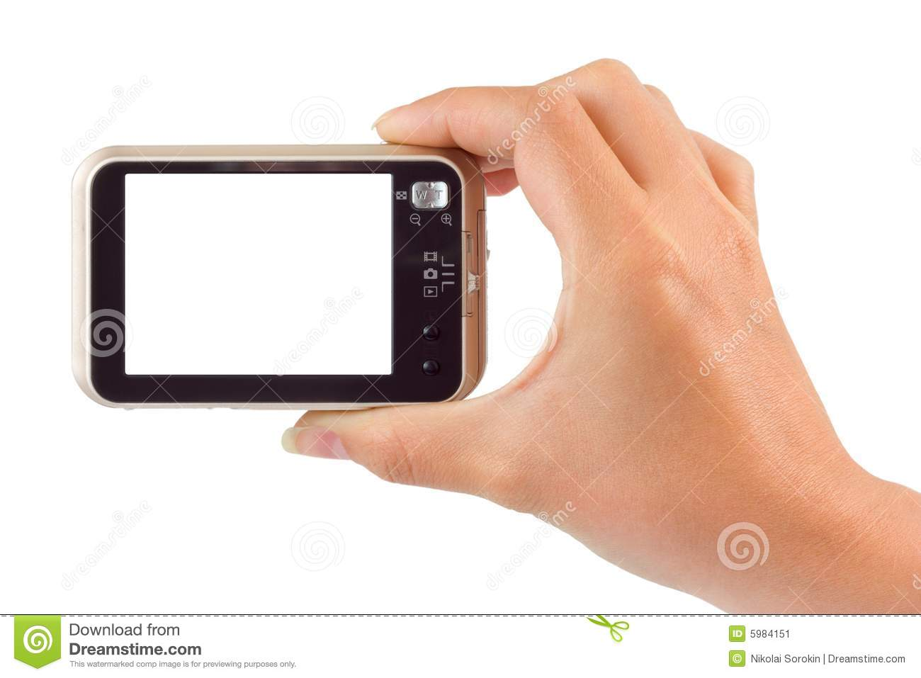 photo camera in hand stock image image of fingers compact 5984151