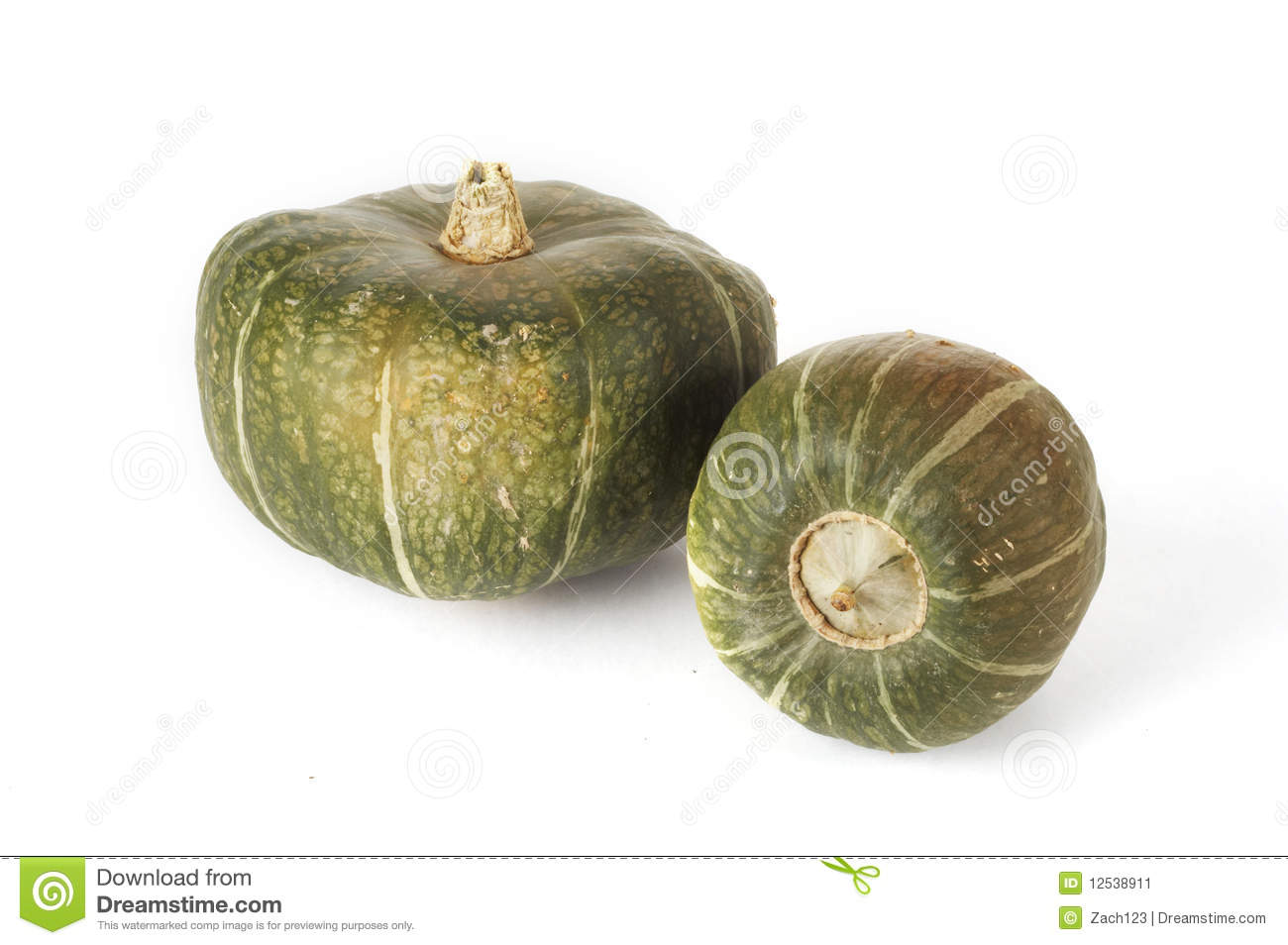 Photo courante de courge de renoncule