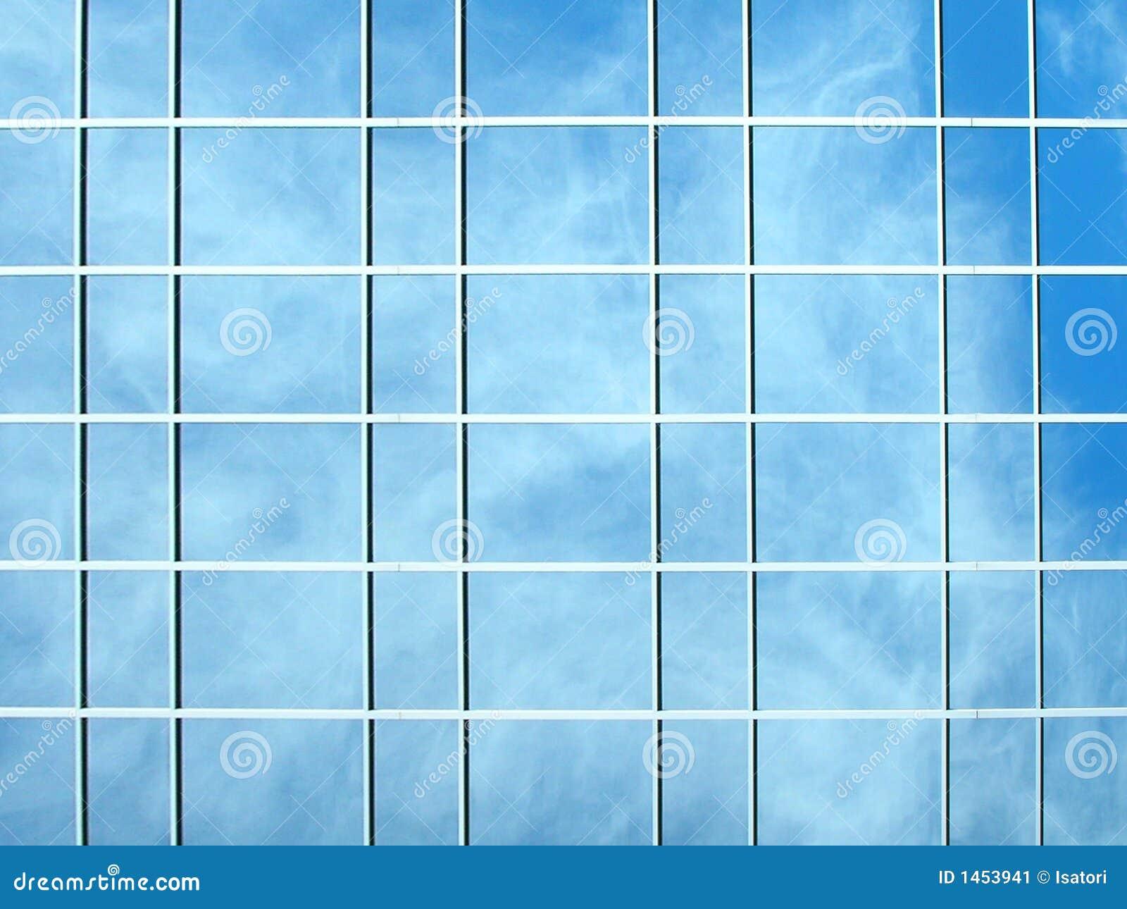 Photo d 39 une construction en verre illustration stock for Exterior glass wall texture