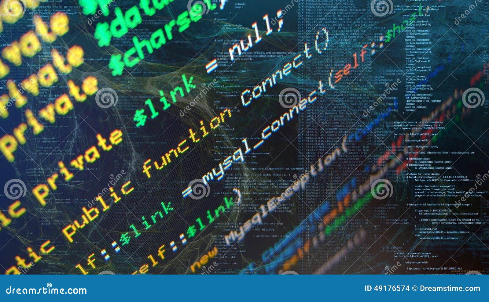 Photo de programmation