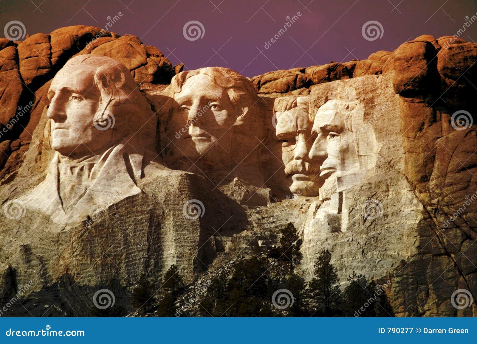 Photo de support Rushmore, le Dakota du Sud