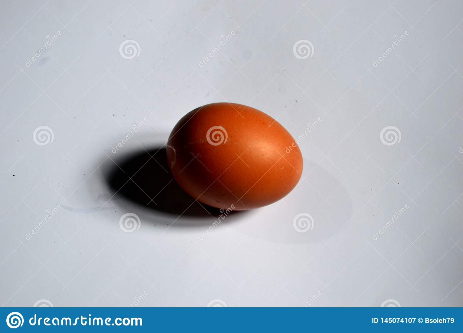 Photo of an egg with a white background