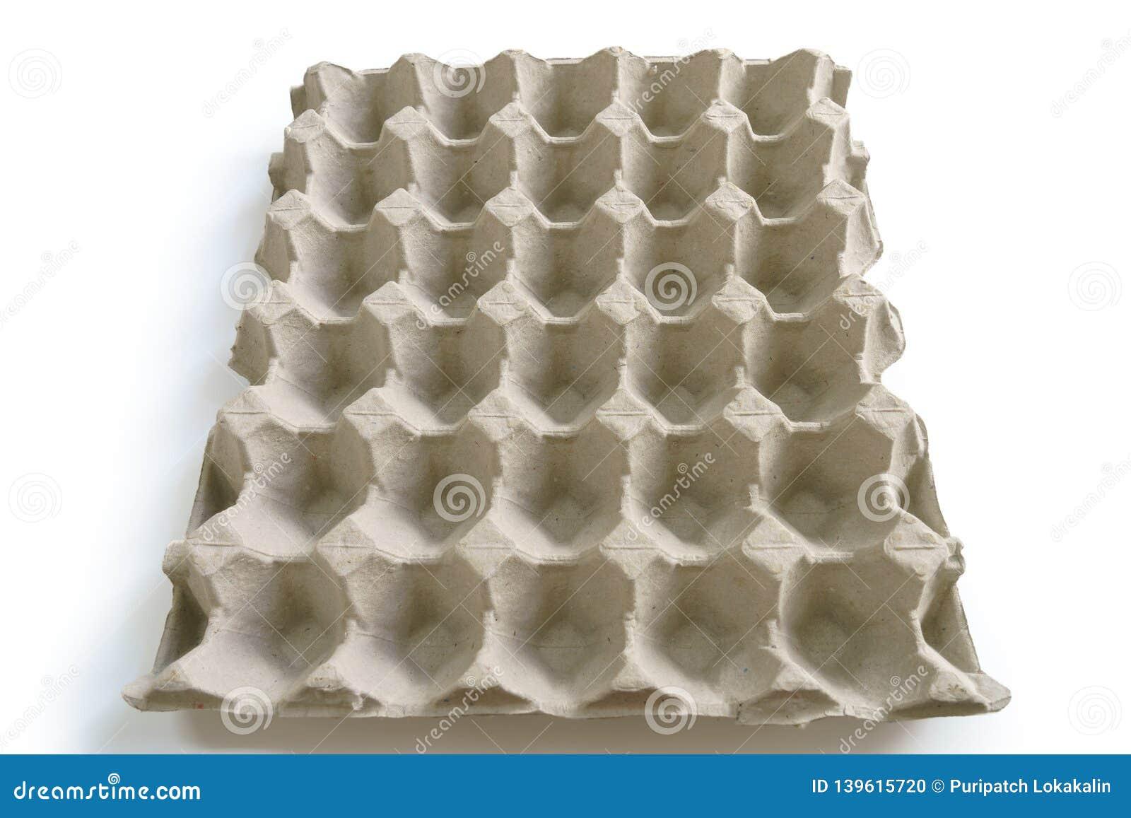 An empty egg tray