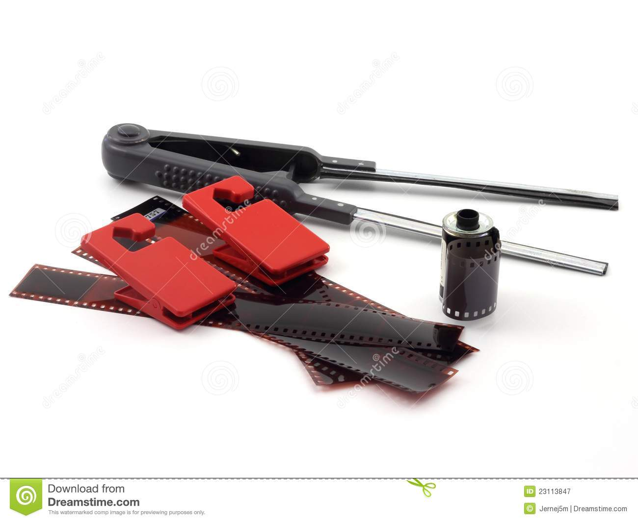 Royalty Free Stock Photography: Photo equipment for developing film: dreamstime.com/royalty-free-stock-photography-photo-equipment...