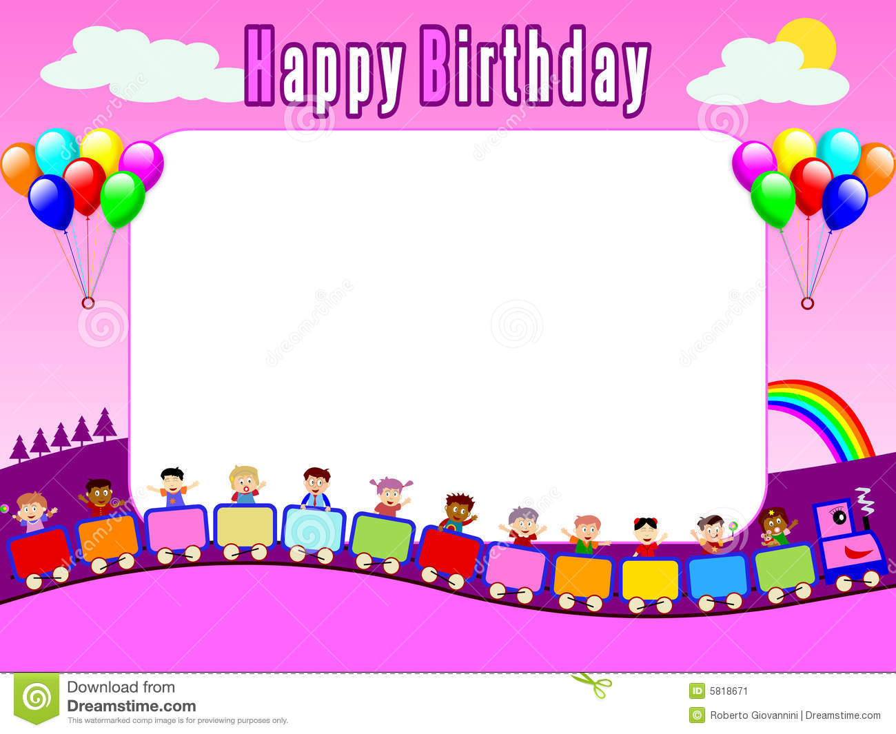 birthday card frame download - Boat.jeremyeaton.co