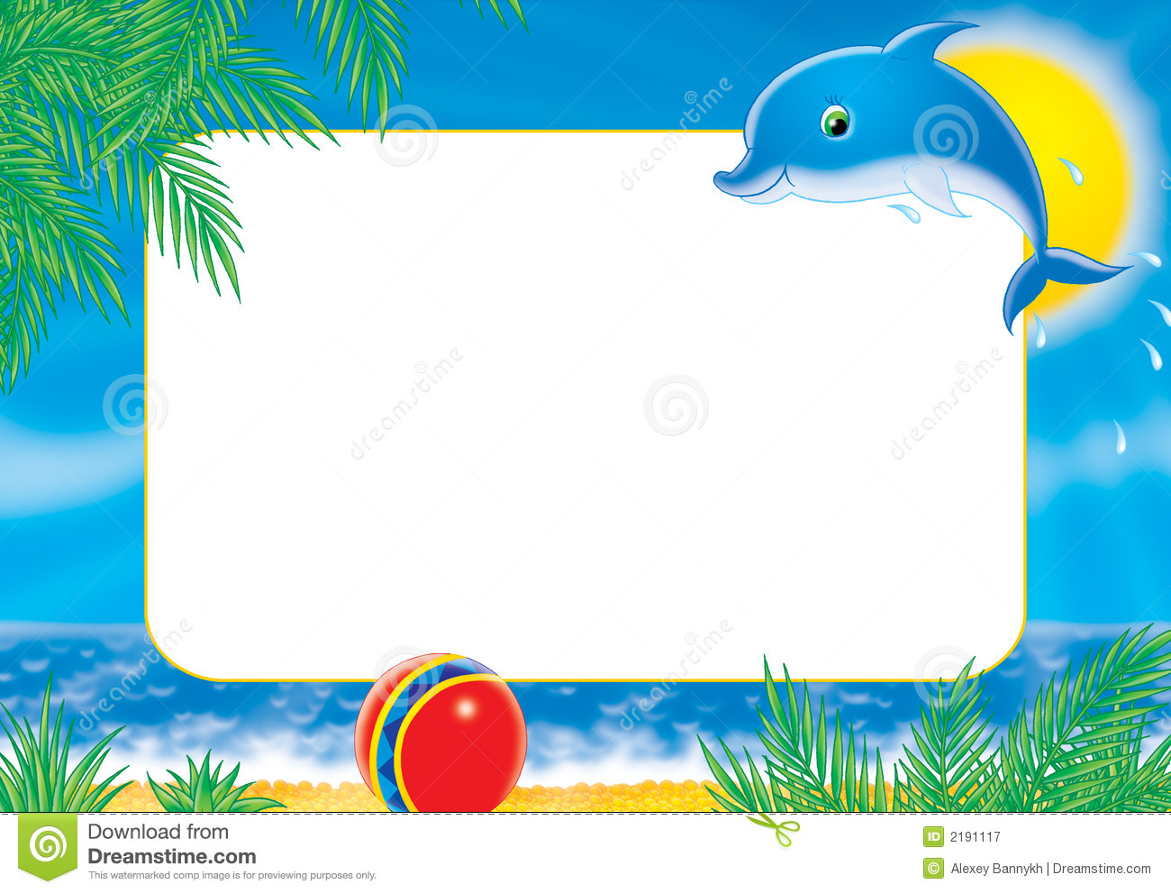 photo frame dolphin royalty free stock photography   image