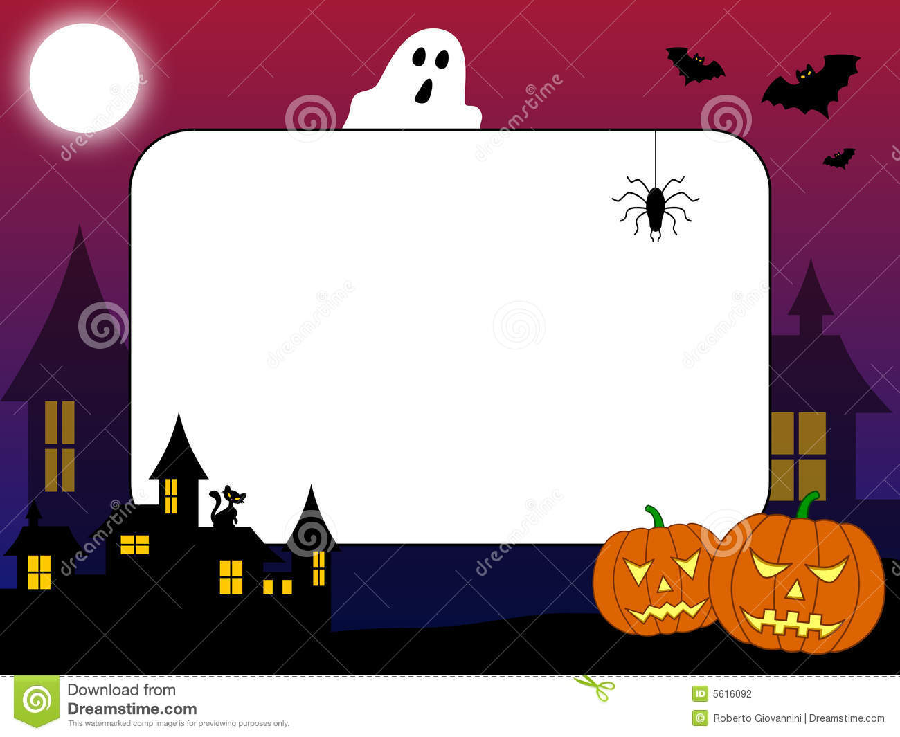 photo frame halloween  2  stock photography image 5616092 cute halloween ghost clipart halloween ghost clipart images