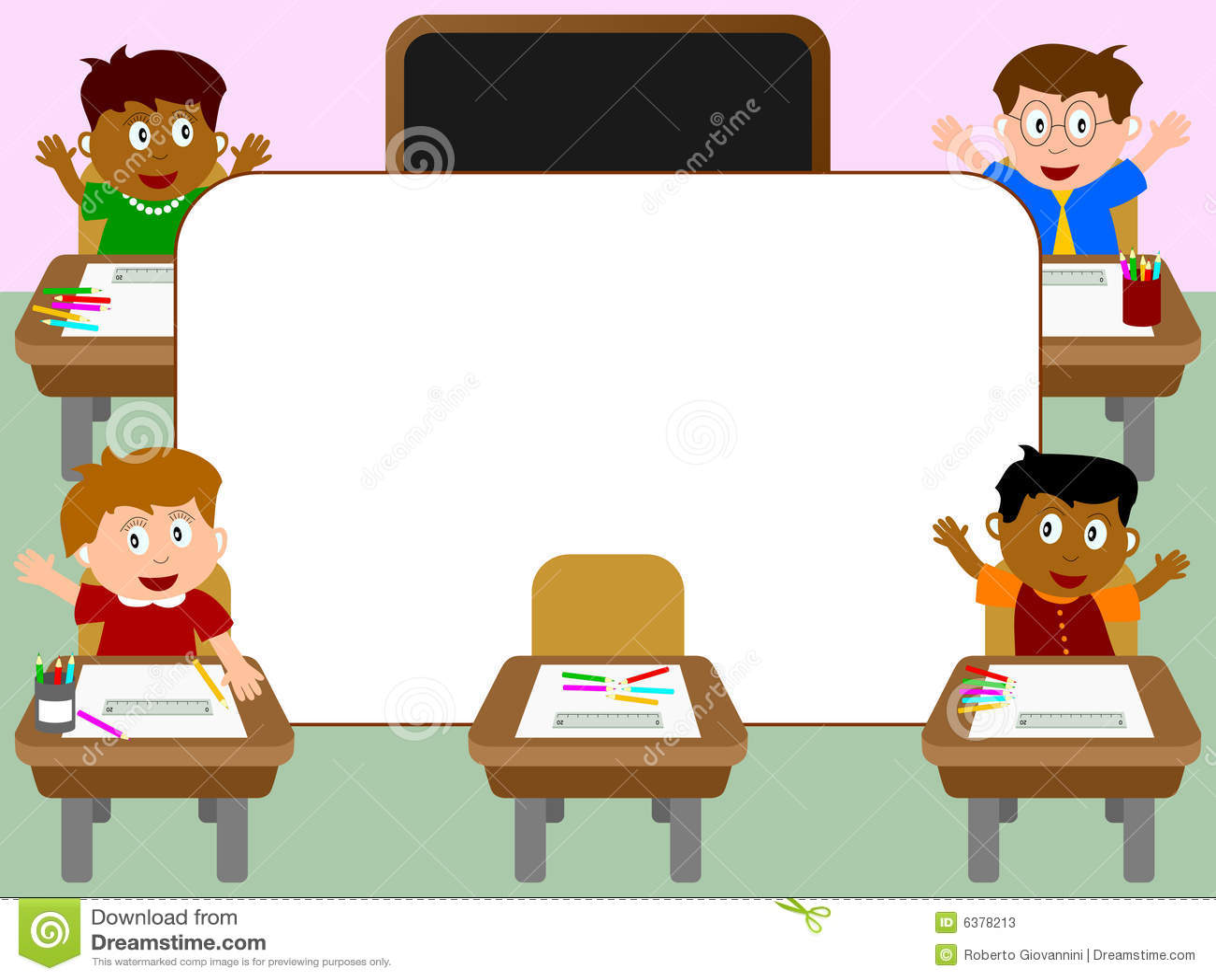 Photo Frame - School [1] Stock Photos - Image: 6378213