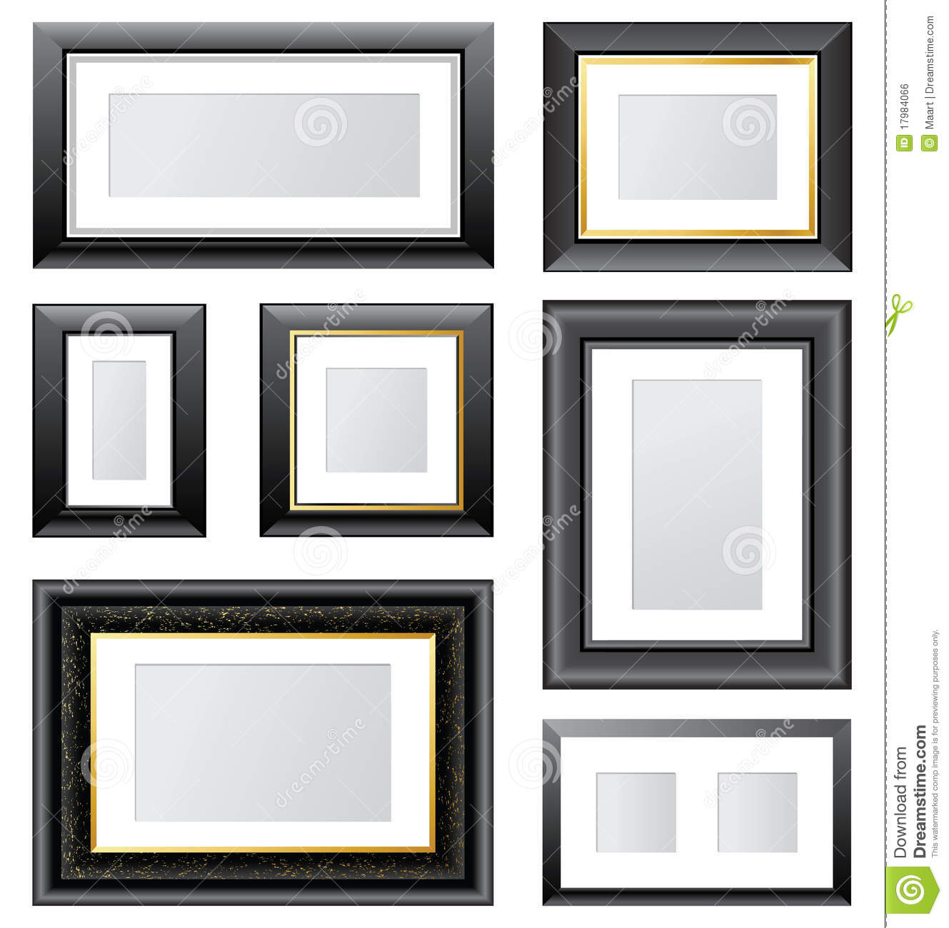 Photo frames royalty free stock image image 17984066 for Trustile doors cost